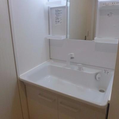 洗面台も文句なし!