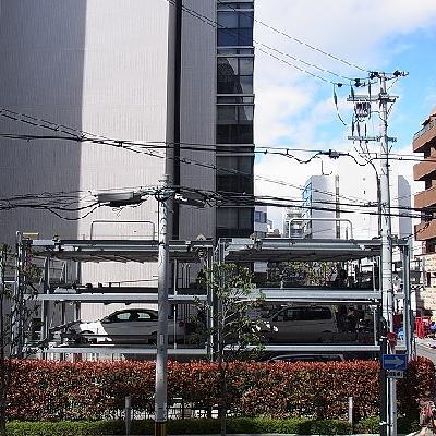 眺望はビル街※写真は201号室