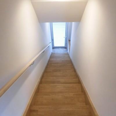 階段ながい!