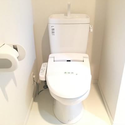 ウォシュレット付きが嬉しいきれいなトイレ