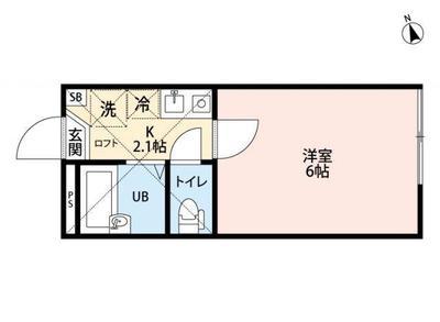 中野島8分アパート の間取り