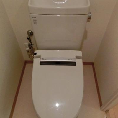 トイレはこんな感じです※写真は別部屋になります