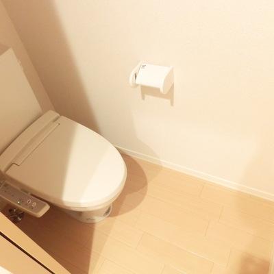 トイレも広いです!