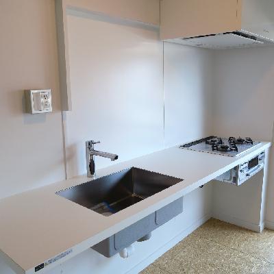 デザイナーズキッチン。※写真は同じ間取りの別室