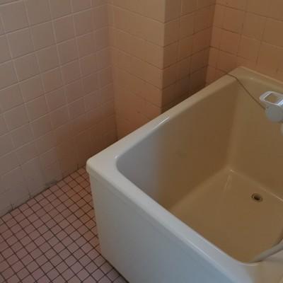 浴槽はかなりコンパクト