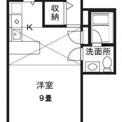 29.89㎡の広々ワンルーム
