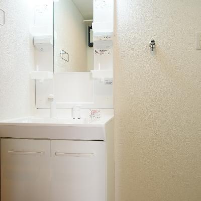 その前に独立洗面台と洗濯機置き場で動線もGOOD!!※画像は別部屋