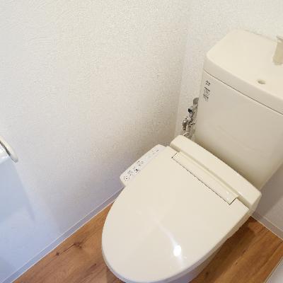 トイレはウォシュレットついてます!※画像は別部屋