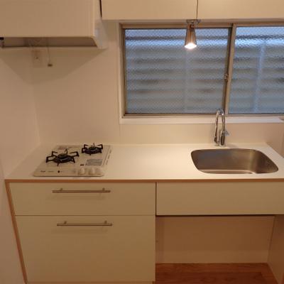 オリジナルの可愛いキッチン♪※写真は前回工事の3階のお部屋