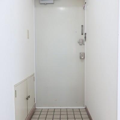 玄関横の扉はシューズボックス