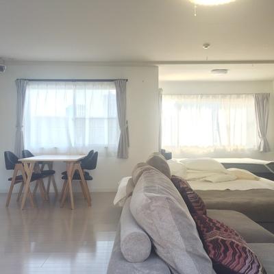 こちらは家具付きのお部屋です