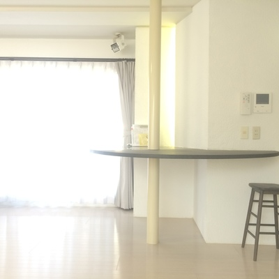 円型のテーブル