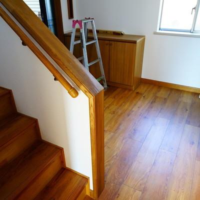 階段で3階へ!