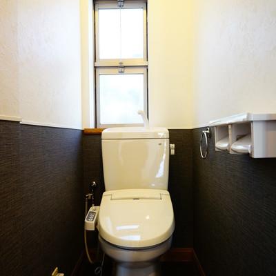 トイレは新品でウォシュレットつき!