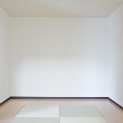 ほっとする和室の空間。