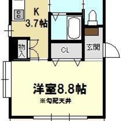 最上階のオーナーズルームをワンルーム3部屋に!