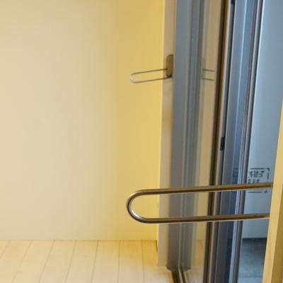 室内洗濯用の設備