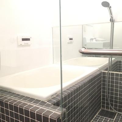お風呂すてき!ホテルみたい!