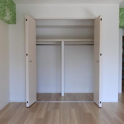 居室の大きめクローゼット