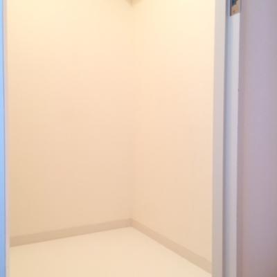 こちらは5階洋室の収納