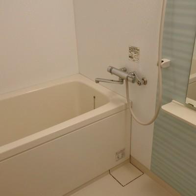 お風呂はお部屋の広さにしてはかなりゆったり