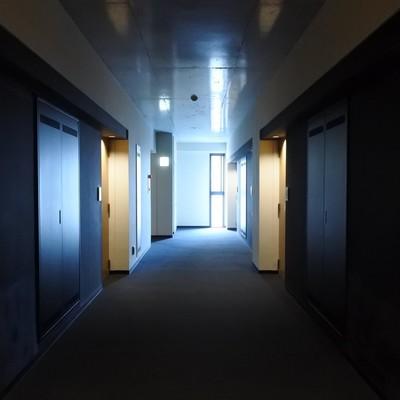 ホテルのような共用廊下