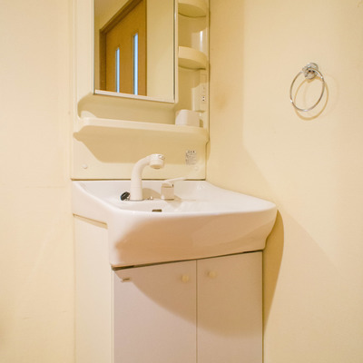 お隣の独立洗面台