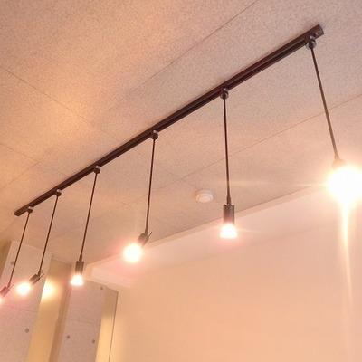【写真は別部屋】このライトがオシャレでかわいい!