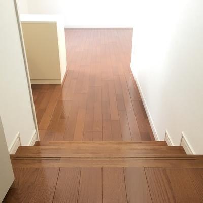 ちっちゃい階段。見落とすと危険!!