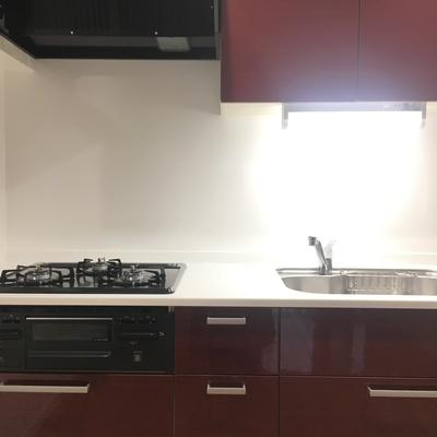 キッチン、使いやすいシステムキッチン