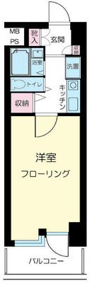 ピュアシティ横浜 の間取り