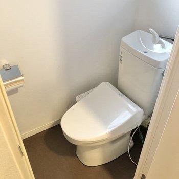 トイレは個室でご用意。