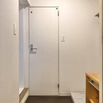 ゆったりとしたスペースが確保されています。