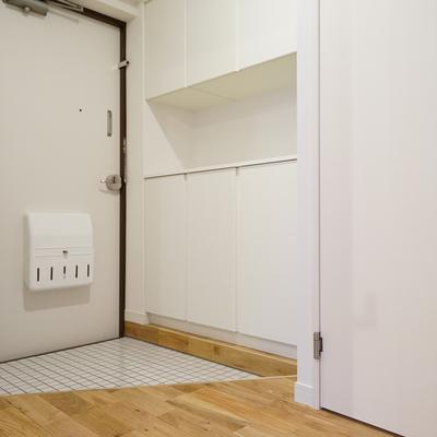 玄関もゆとりのある空間!