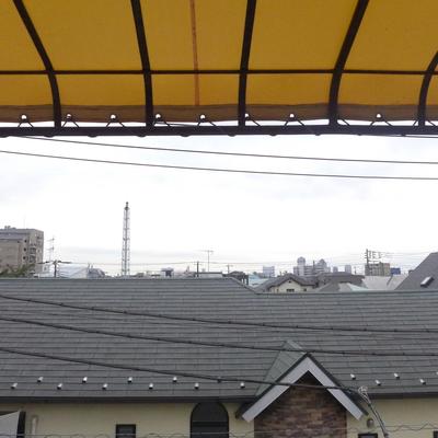 柿色の屋根が素敵ですね