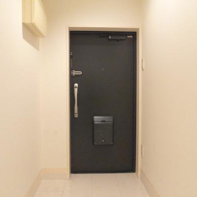 ドアはダブルロック