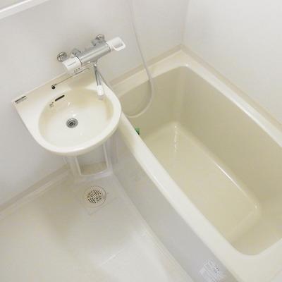お風呂に洗面台、、、、我慢。