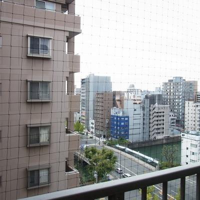 桜川が見えます☆