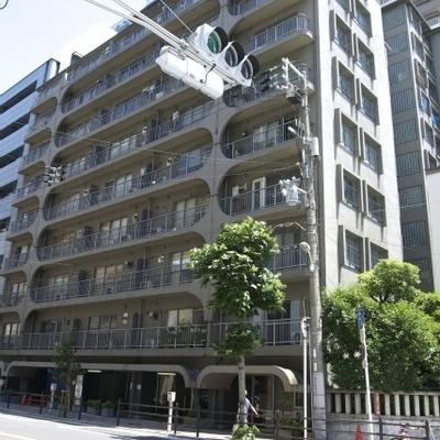 南堀江のレトロキレイなマンション