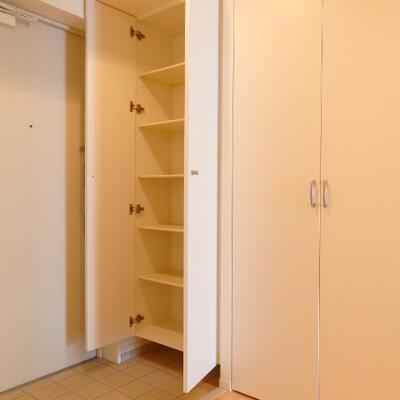 玄関〜廊下にかけてゆったりとしていて使い勝手が良いです ※写真は別部屋です