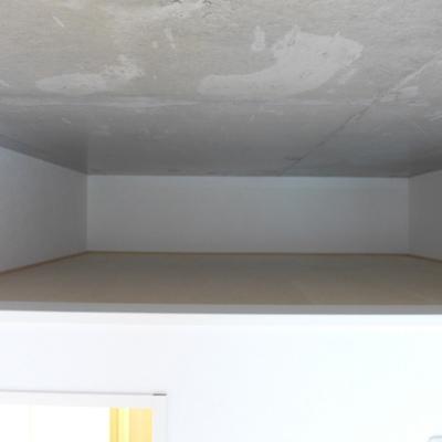 上部に物置としてのスペースありますよ!*写真は別のお部屋です