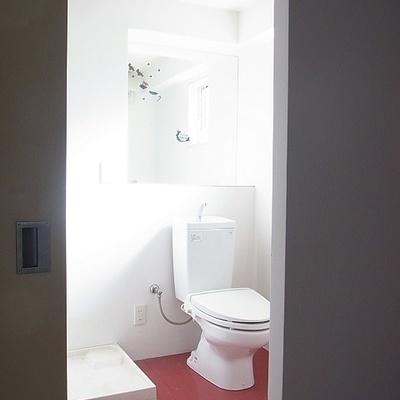 脱衣所、トイレ ※画像別室