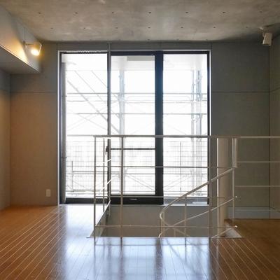 2階は広い。見晴らしも良い!が、現在外装工事中。