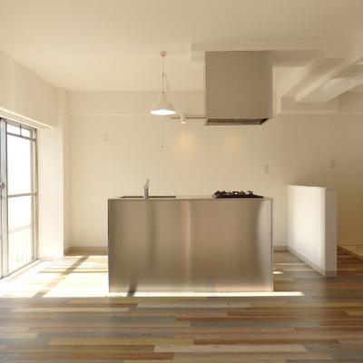 キッチンがとにかくかっこいい
