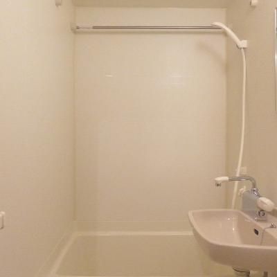 お風呂も綺麗です