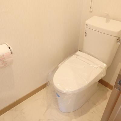 トイレも新品※工事中です