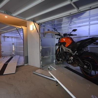 2台分のバイク置き場