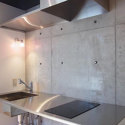 洗練されたキッチン