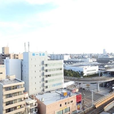 12階の眺望です