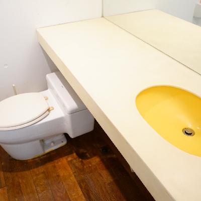 トイレと洗面台もゆったり♪
